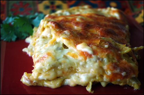 Enchilada Lasagna – Mexican Style | God does reassemble shattered ...